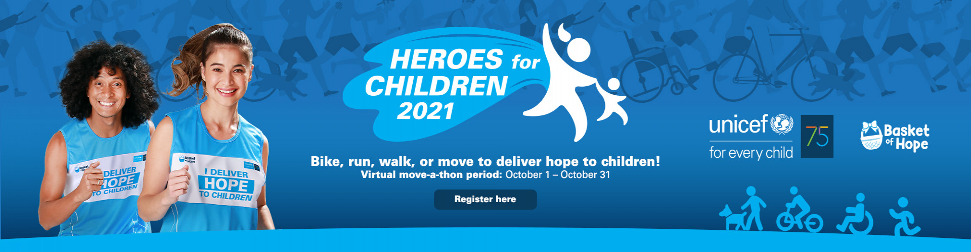 Unicef Heroes for Children 2021