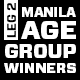 AGE GROUP CATEGORY WINNERS! (MANILA)