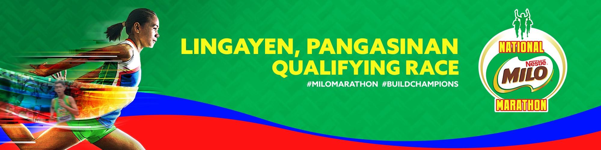 2019 National MILO Marathon Lingayen