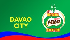 2019 National MILO Marathon Davao City