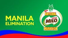 2019 National MILO Marathon Manila Elimination