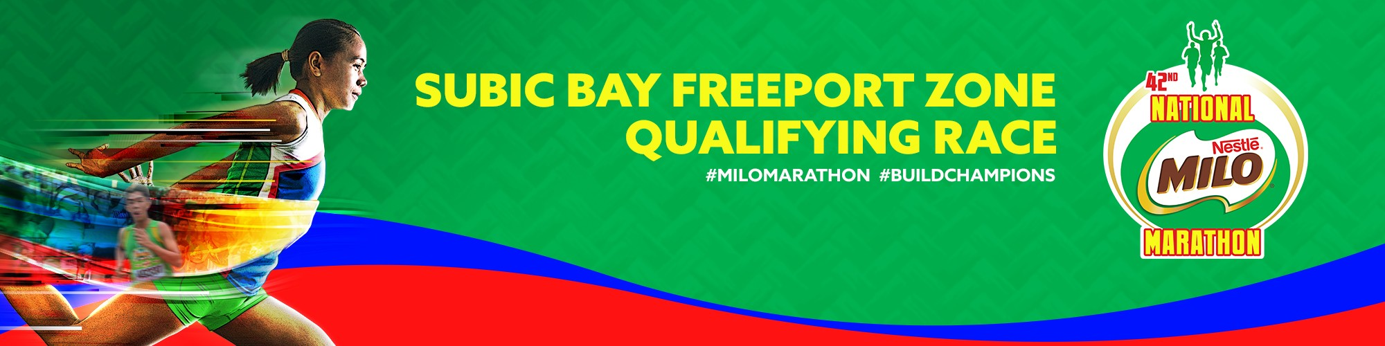 2019 National MILO Marathon Subic Bay Freeport Zone