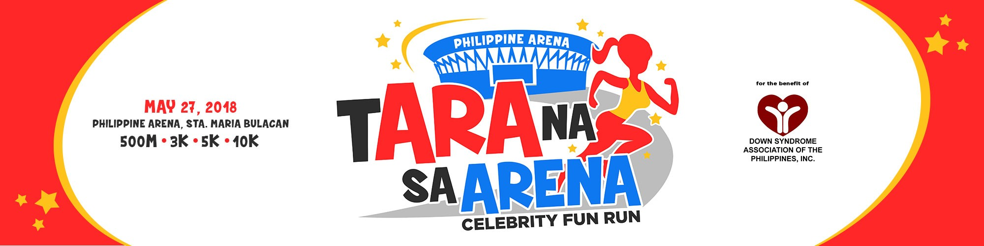 tARA na sa ARENA Celebrity Fun Run