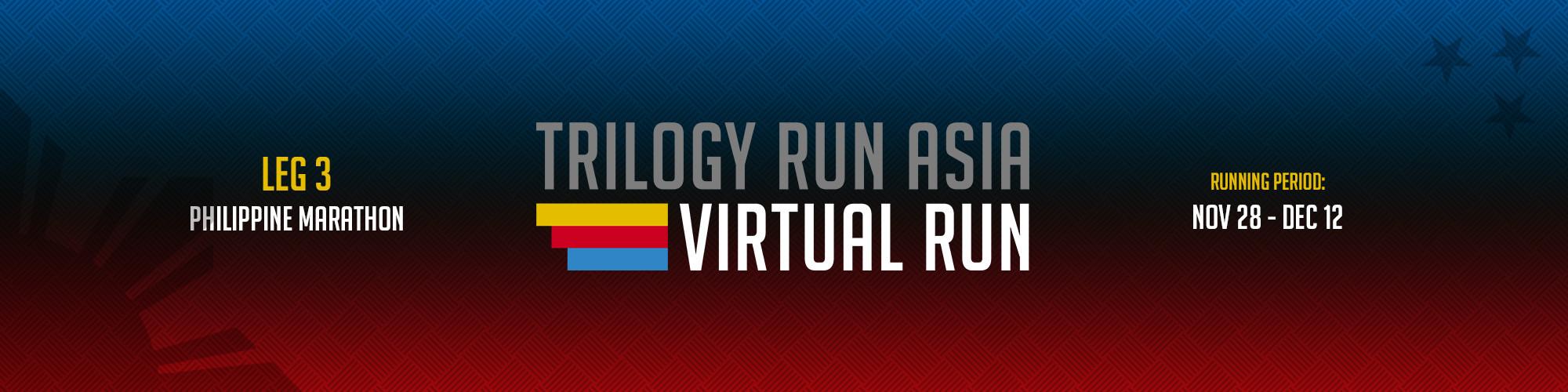TRILOGY RUN ASIA 2020 Leg 3 - VIRTUAL RUN